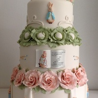 Peter Rabbit Wedding Cake Peter Rabbit wedding cake
