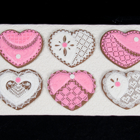 Royal Lace Needlepoint Cookies This was my confections entry for the That Takes the Cake show in Austin, TX in February 2013. I won First Place in Masters Division.