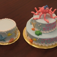 Baby's 1St Birtday Cake Under the sea