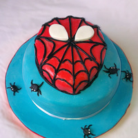Spiderman Cake Spiderman cake, choco ganache cake