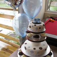 My Sons Christening Cake   My Son's Christening cake