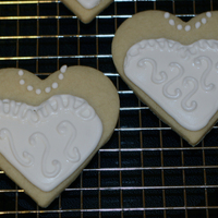 Bride Cookie Made with NFSC recipe and Antonia RI