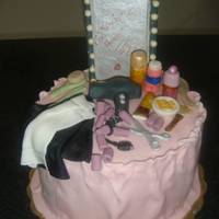 Monica's Beauty Salon I made this cake for a good friend who is also my favorite hairdresser in Canc?n.
