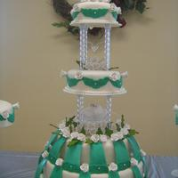 My Mom's Wedding Cake
