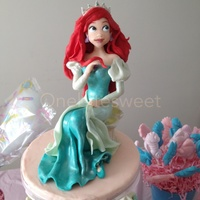 Princess Ariel I made princess Ariel for my daughter's birthday. She loved it.