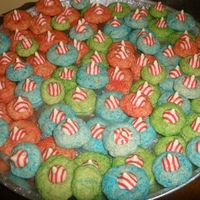 Festive Cookies cookies for New Year's i added with other baked goods for teachers and doctor