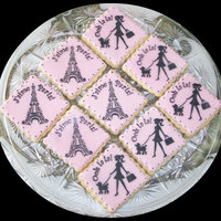 Stenciled Cookies/fondant