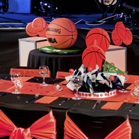 Professional Basketballers Birthday Cake
