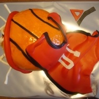 Basketball Theme Cake For A Ymca