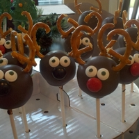 Christmas Cake Pop Display