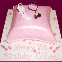 Pink Pillow - Shoe Bag Lippy Cake!