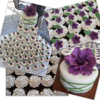 Fantasy Flower Wedding Cupcake Tower!