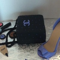 Chanel Bag With Mac Makeup And Shoe Chanel bag with mac makeup and shoe
