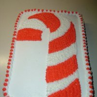 Christmas Fun White cake with vanilla filling. Covered with traditional buttercream