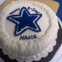 Dallas_1.jpg friend is dallas fan...birthday cake request