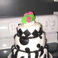 Black And White Fondant   All decorations are MMF.