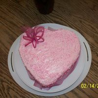 Romantic Heart Cake This is a cake I made for my mother to give to her Valentine on Valentine's Day. I love this cake and had so much fun making it. I...