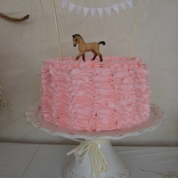 Vintage Cowgirl Cake