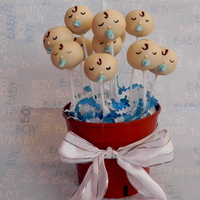 Baby Shower Cake Pops buttermilk cake