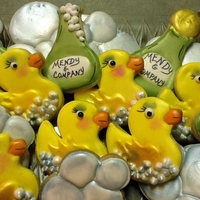 Rubber Duck Cookies