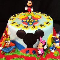 Mickey Cake This is one of my most requested cakes and I don't know who the original design compliments goes too because they're are so many...