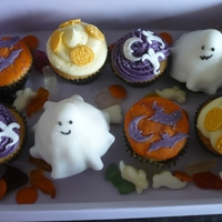 Halloween Cupcakes Assorted cupcakes