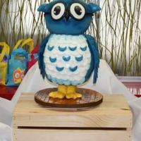Owlie The Cake For A Reliant Pedicatric Therapy Services Owlie the cake for a Reliant Pedicatric Therapy Services.