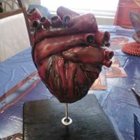 Human Heart Cake A Human Heart Cake for a cardiologist. Coming from a family with early age heart disease, I almost felt like this was for my mother who...
