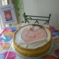 Peter (Family Guy) Cake I make this cake for my son birthday