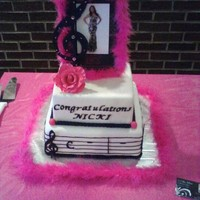 Opera Students Recital Cake