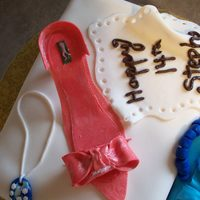 Shoe Box And Shoe Cake