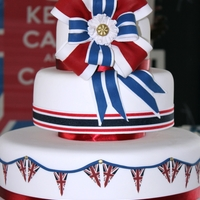 British Invasion this was a British Themed cake I made for a Client for a British invasion themed party