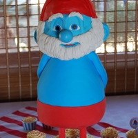 3D Papa Smurf I made this for my Sons 5th Birthday, his body is not perfect but I was so happy with how his face turned out. most importantly the...