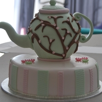 Kitchen Tea Teapot Cake Teapot Cake for a small Kitchen tea