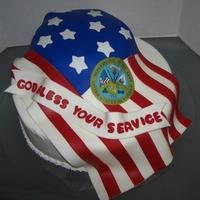 I Made This Cake For My Son In Law At His Going Away Party To Serve In Afghanistan I made this cake for my son in law at his going away party to serve in Afghanistan.