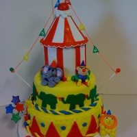 Twins Carnival Cake   Twins Carnival cake