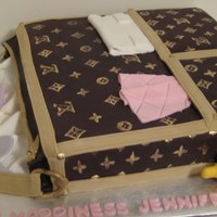 Lv Baby Shower Diaper Bag