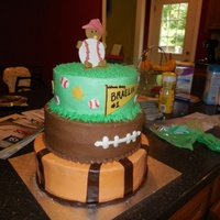 Sports Baby Cake