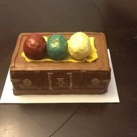 Game Of Thrones Cake Dragon eggs from game of thrones