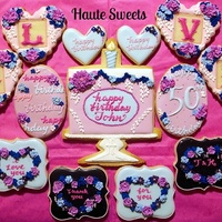 50Th Birthday Cookie Set