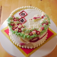 2011 Year Of Rabbit Cake