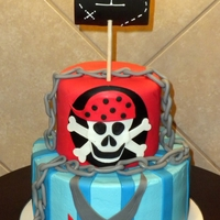 Pirate 1St Birthday   Pirate themed birthday cakes