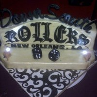 Down South Rollers Car Club Cake