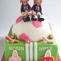 Two Girls On A Cake
