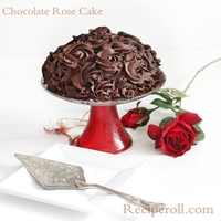 Chocolate Rose Cake Made for our 10 th anniversary.Its a chocolate mousse cake with chocolate Ganache roses