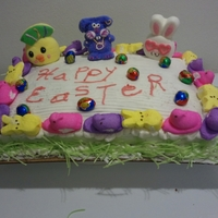Easter Cake I made this cake for Easter