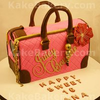 Pet Carrier Cake