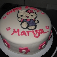 Hello Kitty Bday Cake My 1st attempt! I love it, even if I say so myself! ;)
