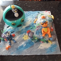 Octonauts Birthday Cake For my daughter's 6th Birthday I had the request for an Octonatuts Cake. The Gup A is made from chocolate covered crispies and covered...