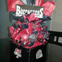 Go Bucs! *Bucs game day centerpiece